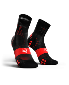 COMPRESSPORT V3 ULTRALIGHT BIKE socks ΜΑΥΡΗ