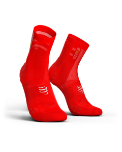 COMPRESSPORT V3 ULTRALIGHT BIKE socks ΚΟΚΚΙΝΗ