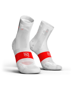COMPRESSPORT V3 ULTRALIGHT BIKE socks ΑΣΠΡΗ