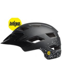 Bell Sidetrack MIPS Youth Helmet Matt Black Silver Fragment