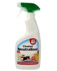Wash  Get Off Cleaner Neutraliser Spray 500ML ΕΣΩΤΕΡΙΚΟΥΣ ΧΩΡΟΥΣ