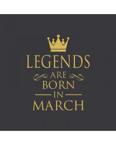 Μπλούζα Legends are born in March
