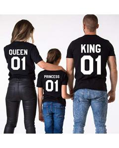 Μπλούζα King, Queen n Princess