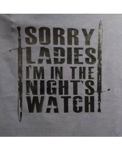 Sorry Ladies T-shirt