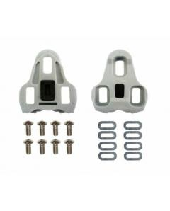 SPECTRA LOOK KEO COMPATIBLE ROAD BIKE BICYCLE PEDALS CLEATS  Grey