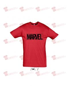T-shirt marvel black