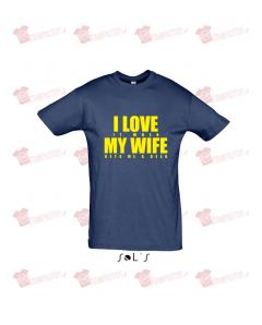 T-shirt love my wife