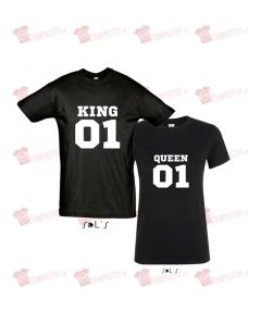 T-shirt king - queen