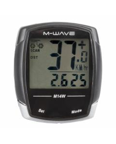 M-WAVE M14W bicycle computer