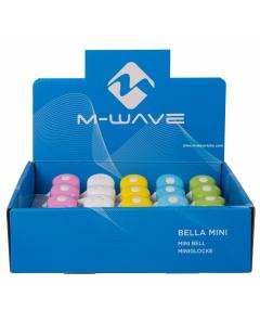 M-WAVE Bella Mini-Pastel mini bicycle bell