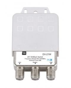 DV-21W DiSEqC switch 2x1 ΑΔΙΑΒΡΟΧΟ    2-3-001