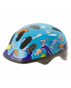 M-WAVE Sea Land Blue KID-S children helmet