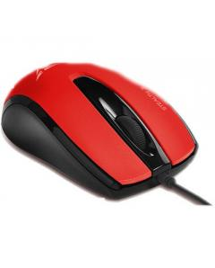 ALCATROZ WIRED SILENT MOUSE STEALTH 3 M.RED - S3MR