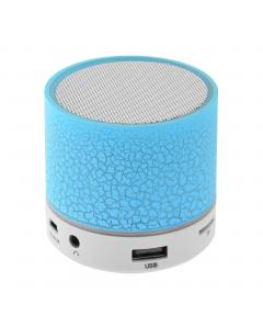 LAMTECH BLUETOOTH SPEAKER LED LIGHT WITH FM BLUE