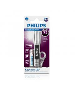 PHILIPS TORCH KEYCHAIN LED MINI WITH 1xAAA ALKALINE BATTERY
