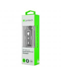 LAMTECH BLUETOOTH 4.0 EARPHONE BLACK HANGING CORD