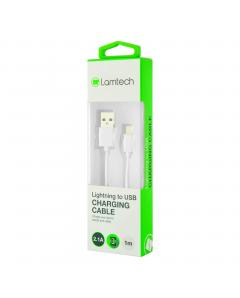 LAMTECH CHARGING CABLE iPhone 567 1m WHITE