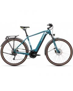 Cube Touring Hybrid One 400 Blue  n Green  2021