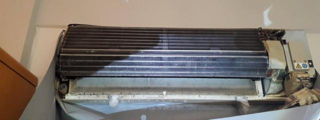 Real air conditioner maintenance {noPicture}