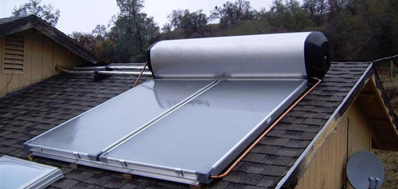 Solar systems with heating assistance