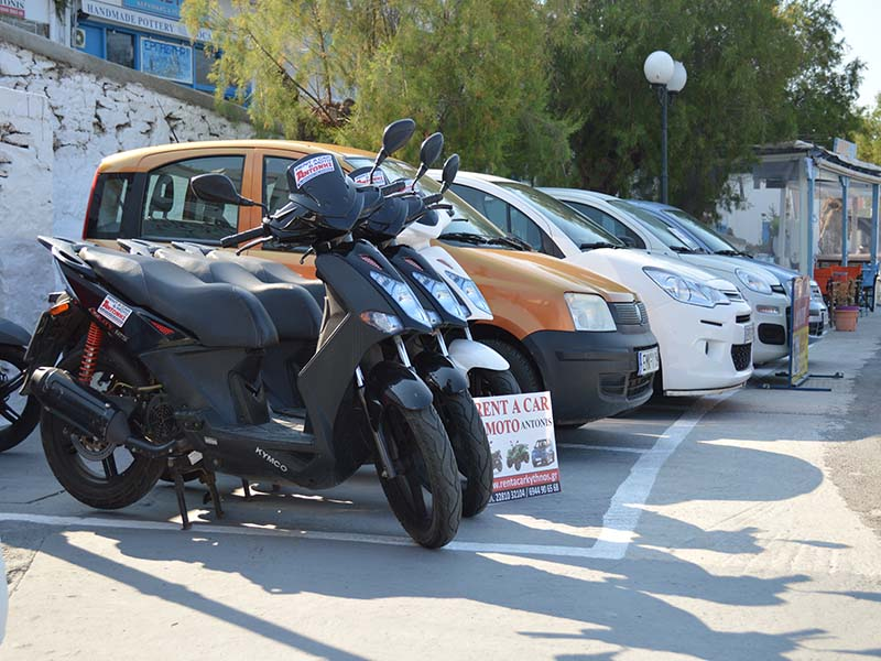 Rent a Car - Motorcycle {expo}