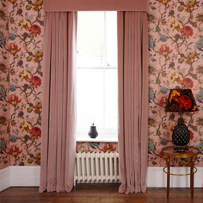 Couture design curtains