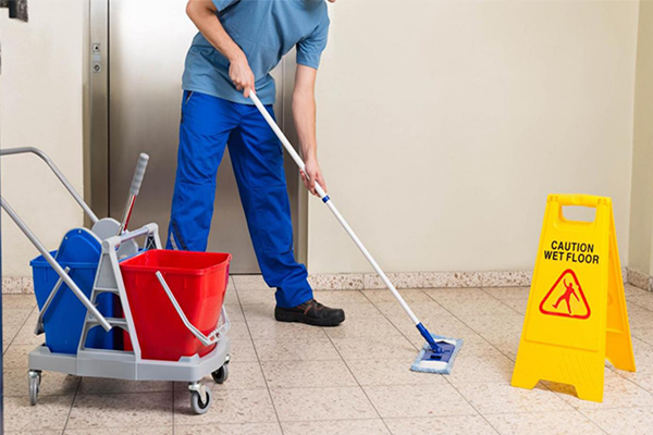 Apartment buildings cleaning