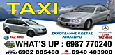 LITOHORO TAXI - TAXI SERVICES LITOHORO Olympus - ZACHOUDANIS Konstantinos - TOURS IN ARCHAEOLOGICAL SITES AND MUSEUMS DION