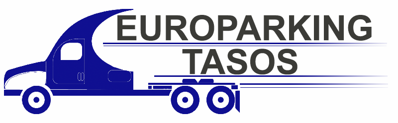 TASOS // TRUCK PARKING // EUROPARKING // ΑΣΠΡΟΠΥΡΓΟΣ