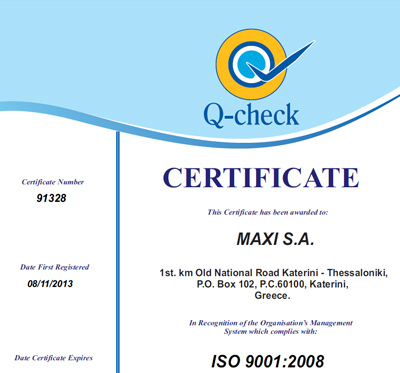 ISO Maxi Paper Mill