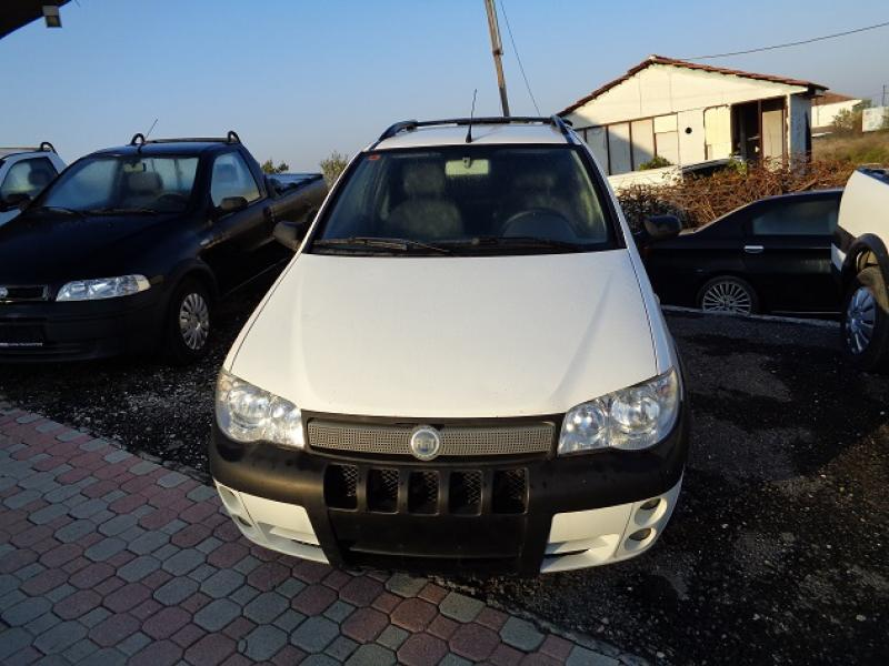 FIAT STRADA 1.3cc MULTIJET ADVENTURE '08 85HP 145ΧΛΜ. 1/5 ΚΑΜΠΙΝΑ