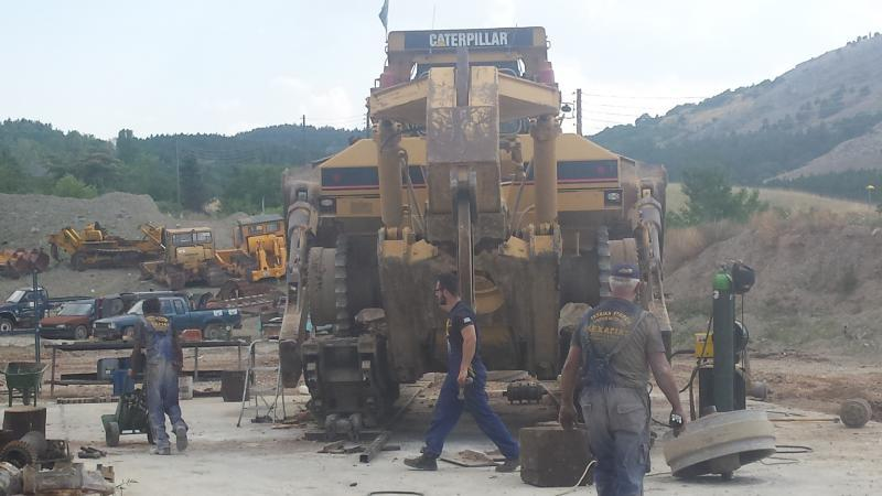 REPAIR UNDERCARRIAGE CAT D11R