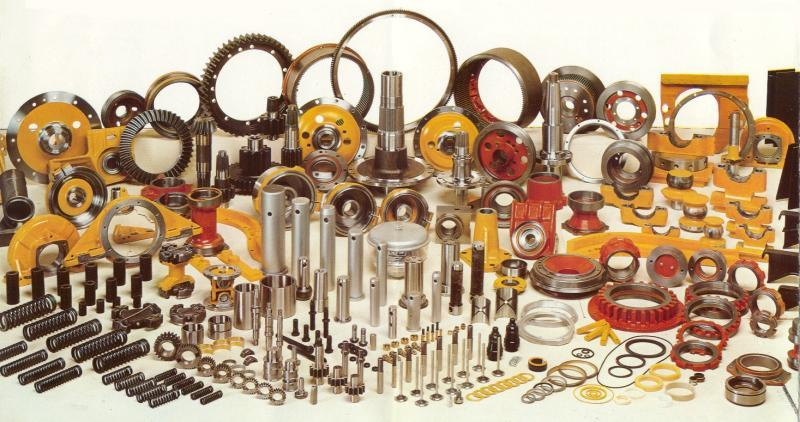 LARGE VARIETY OF SPARE PARTS
