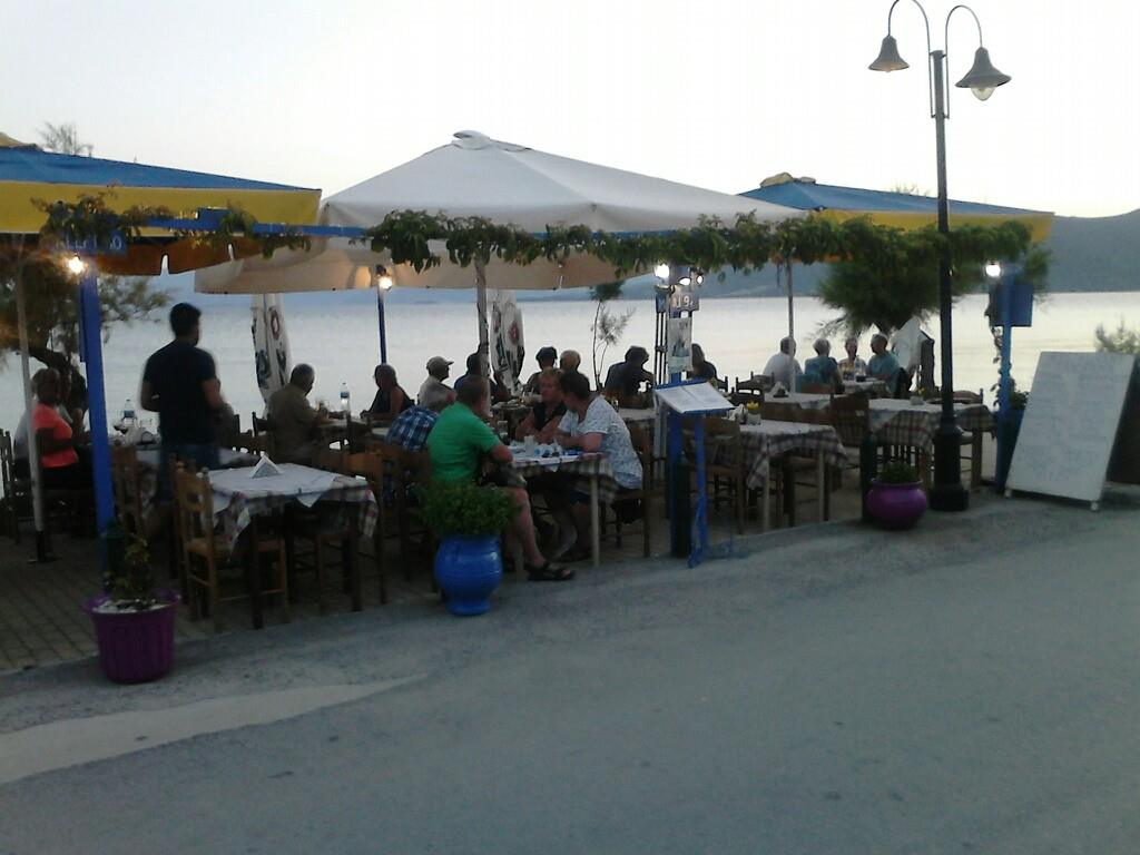 <h2>Our Place</h2><p>Our place is located by the sea, predisposing for good food and moments of warmth.</p><div class='bgslideshowmore'><a href='http://www.tavernapanorama.4ty.gr/more3.php?l=en' >More...</a></div>